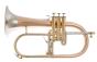 Flicorno Soprano Adams F1 Custom 0,45 Red Brass Satinato campana Nickel Silver