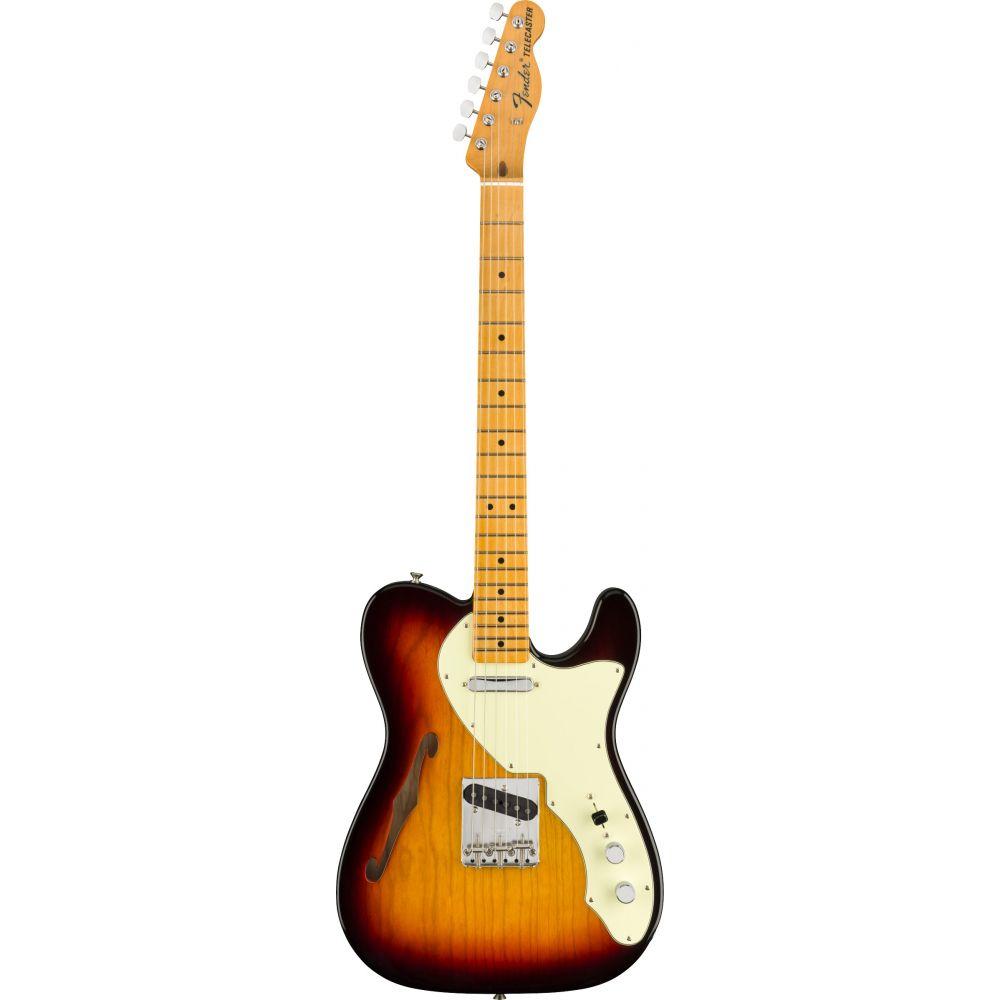 Chitarra elettrica Fender American Original 60s Telecaster Thinline 3 sunburst custodia