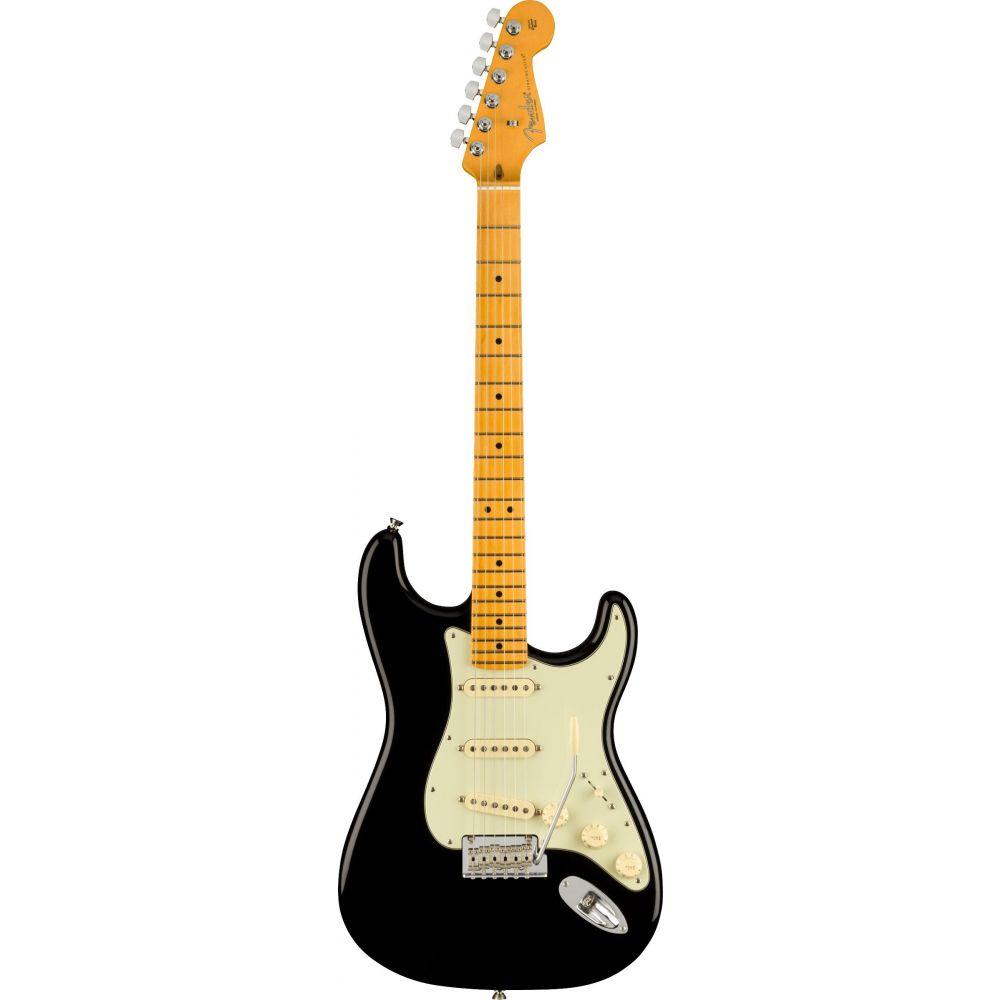 Chitarra elettrica Fender American Professional II Stratocaster mn black con custodia