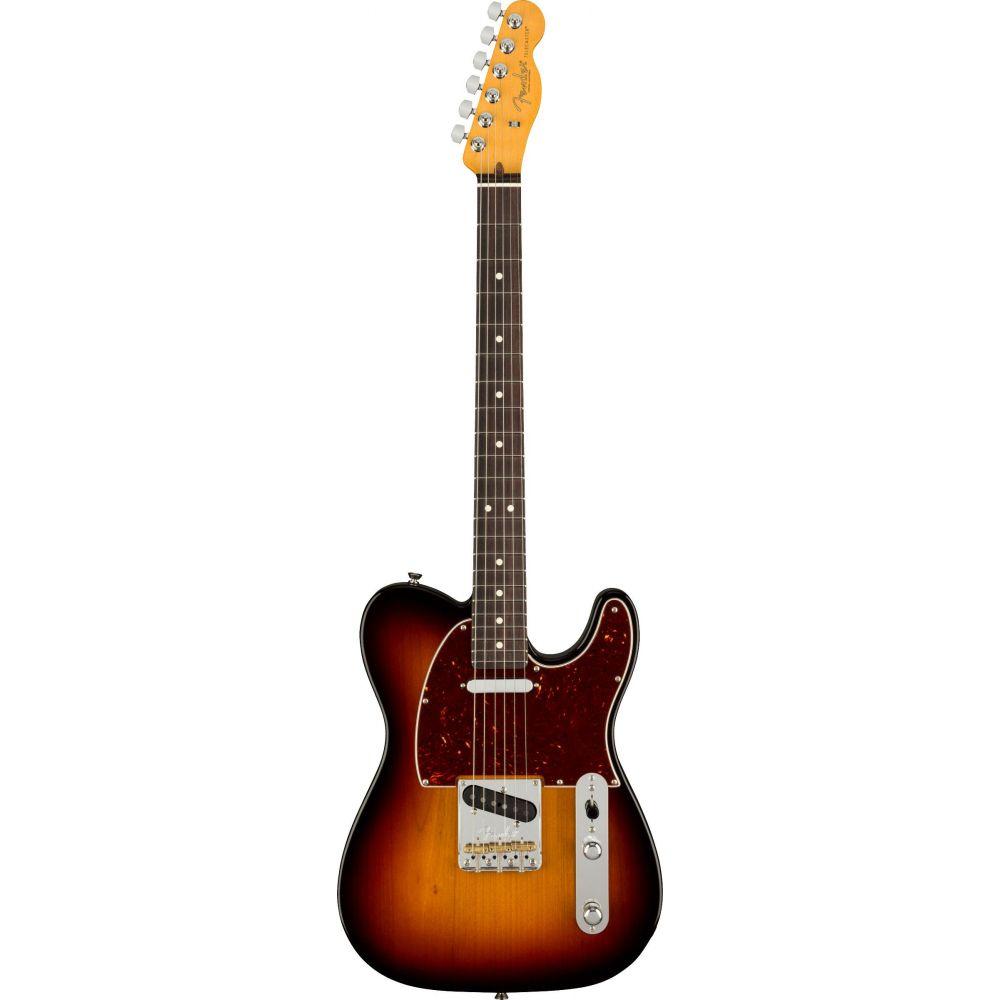 Chitarra elettrica Fender American Professional II Telecaster rw 3 sunburst con custodia