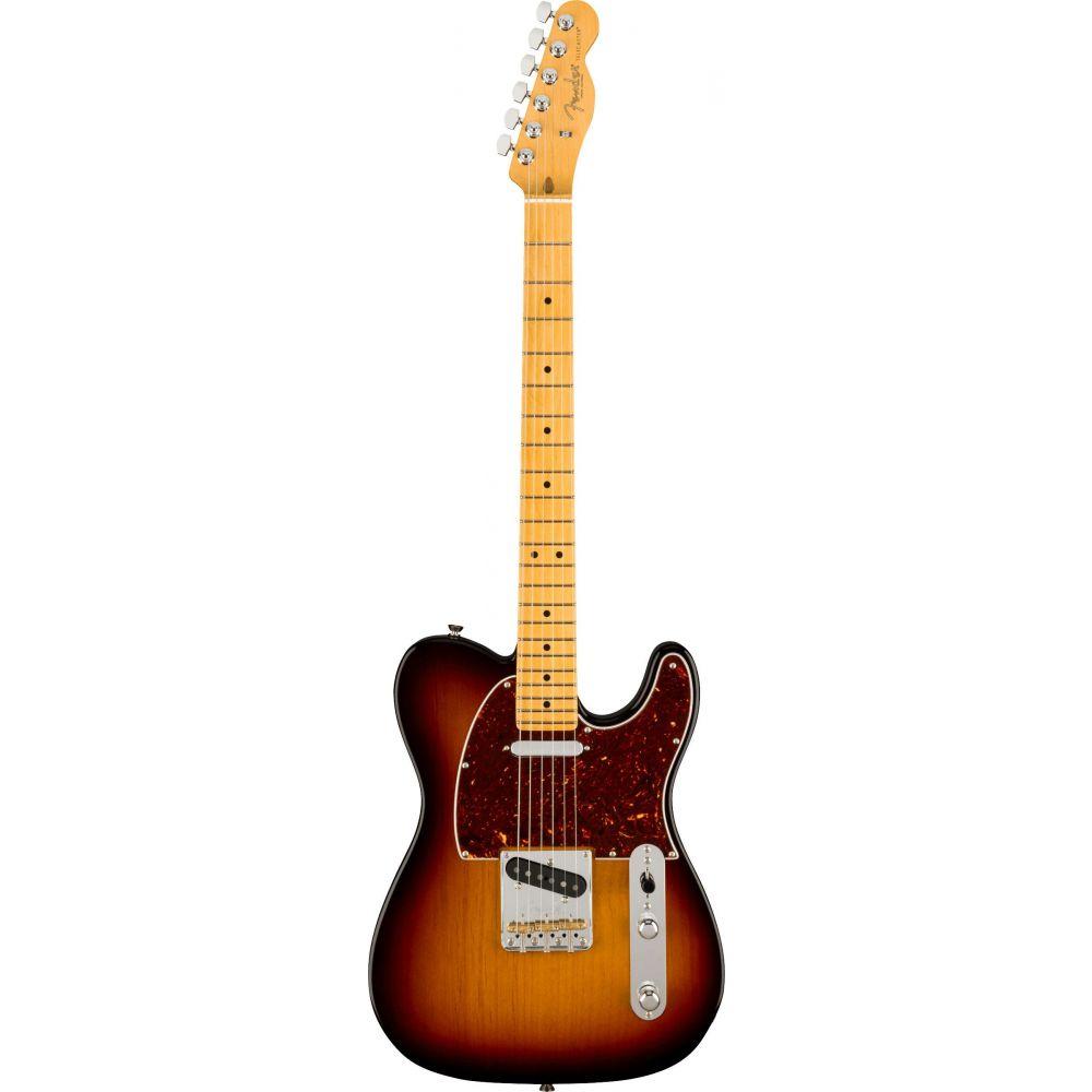 Chitarra elettrica Fender American Professional II Telecaster mn 3 sunburst con custodia