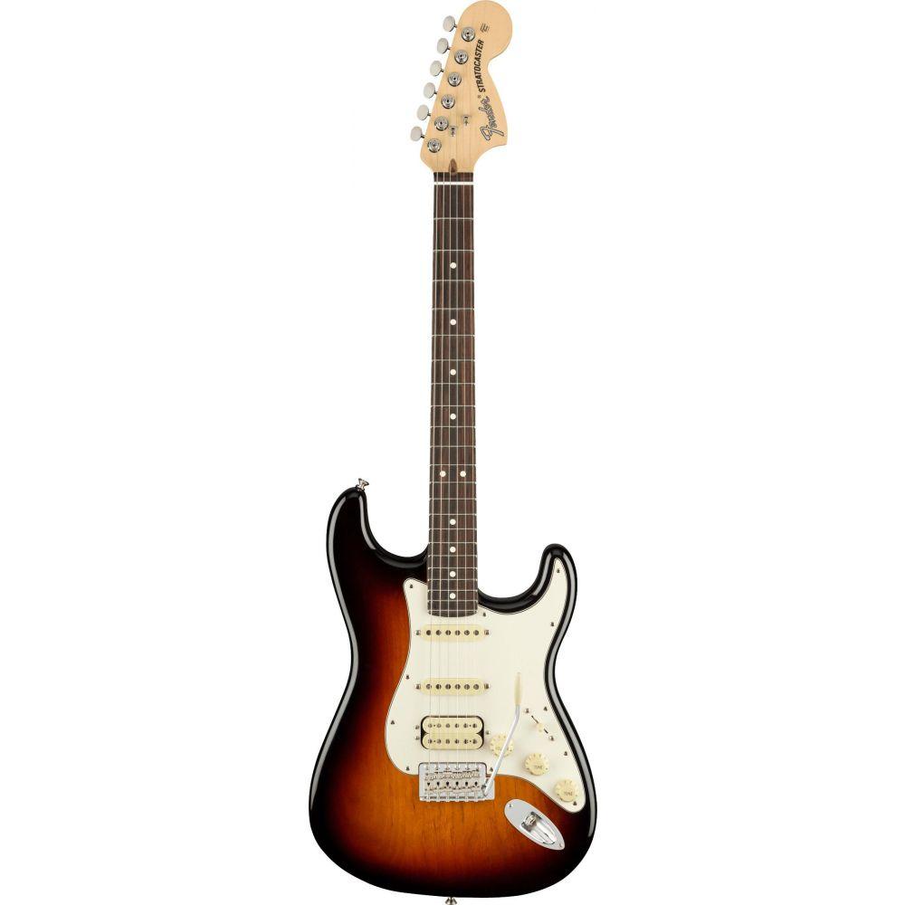 Chitarra elettrica Fender American Performer Stratocaster hss rw 3 sunburst con borsa
