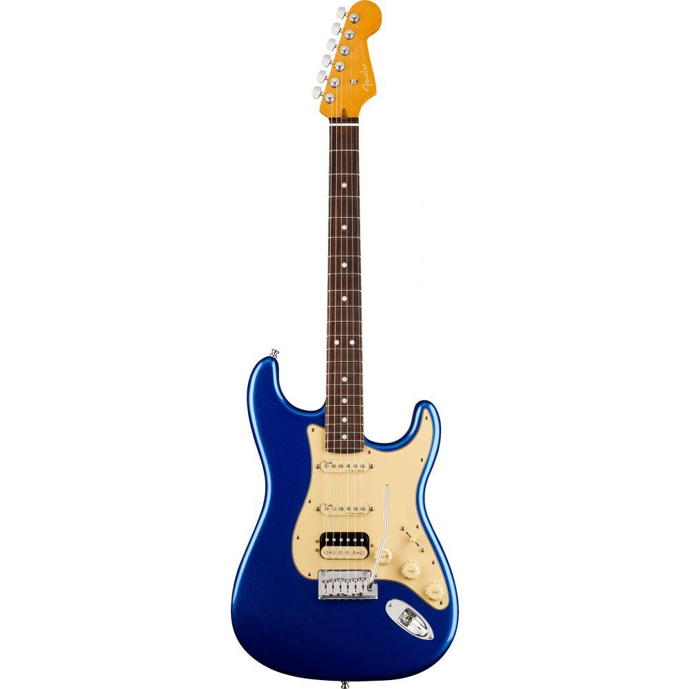 Chitarra Elettrica Fender American Ultra Stratocaster hss rw cobra blue con custodia