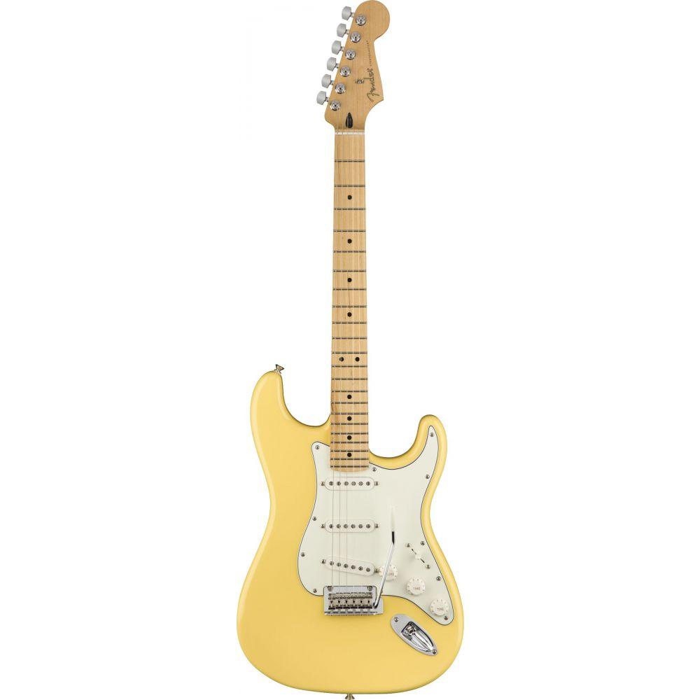 Chitarra elettrica Fender Player Stratocaster SSS mn buttercream