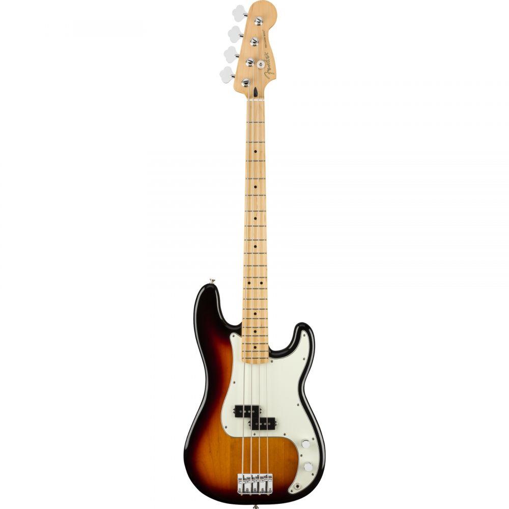 Basso Elettrico Fender player Mexico Precision MN 3T sunburst