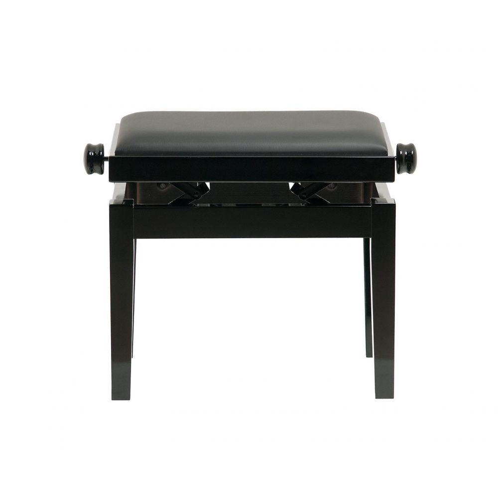 Panca alzabile nero lucido CGM125 Export seduta skay nero Made in Italy