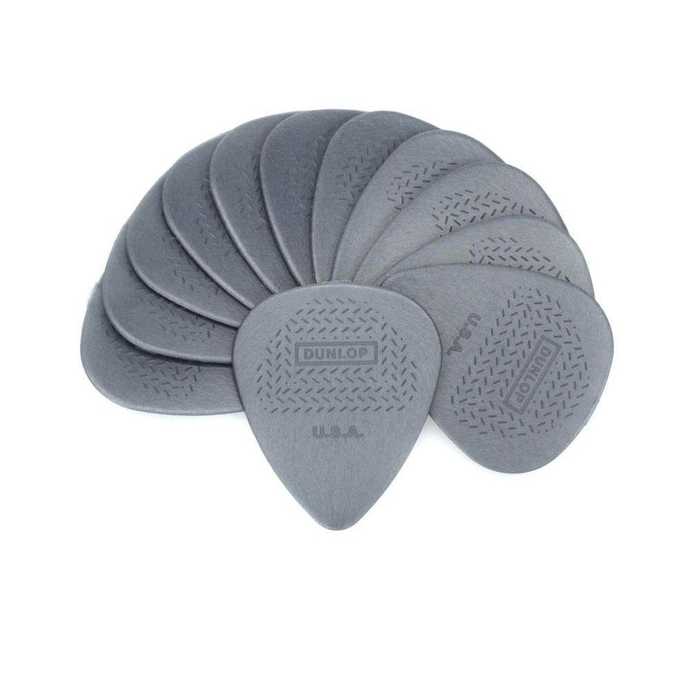 Blister plettri Dunlop 449P.60 Max-Grip nylon standard 12pz 60mm