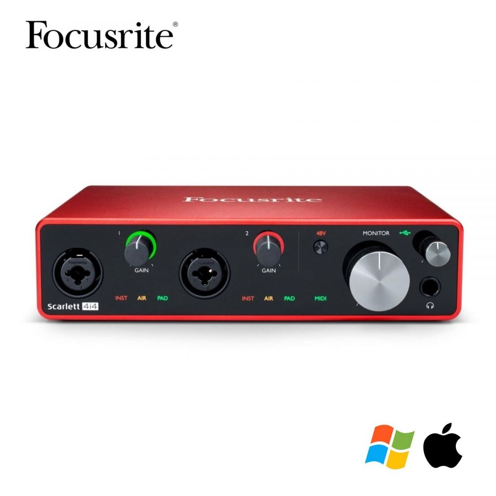 Scheda Audio Focusrite SCARLETT 4I4 3g USB