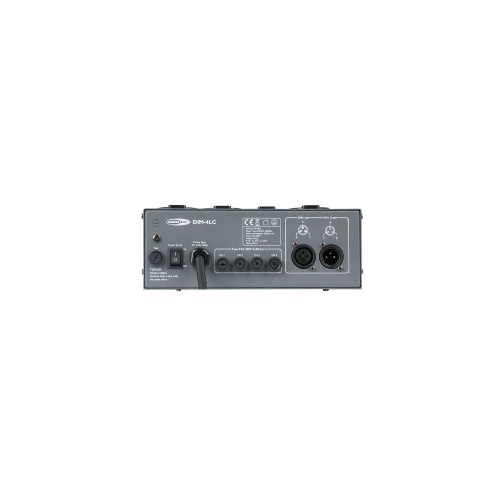Dimmer Showtec DIM-4LC 4 canali