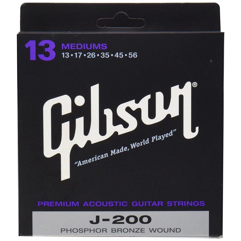 Corde Gibson per chitarra acustica phosphore bronze 013/056