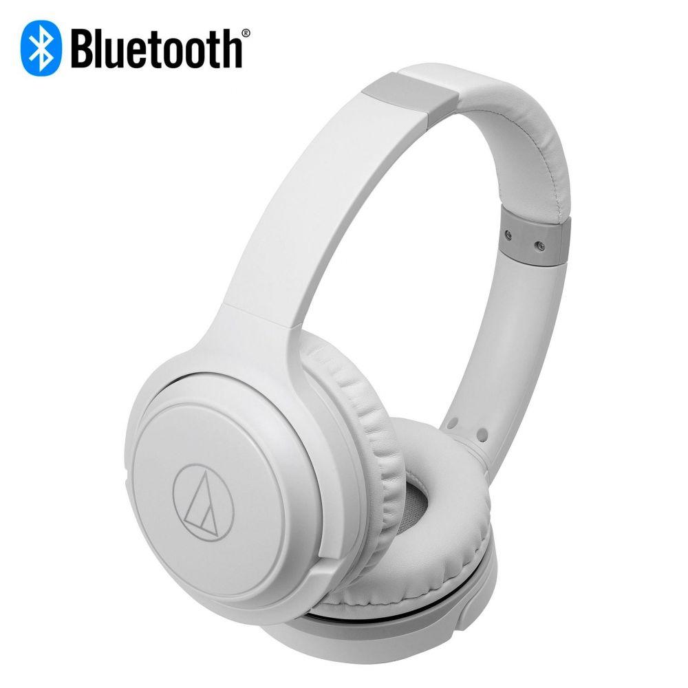 Cuffia bluetooth Audio-Technica ATH-S200BT white