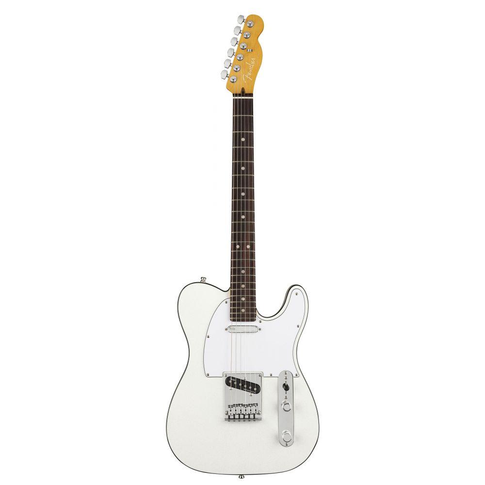 Chitarra Elettrica Fender American Ultra Telecaster rw arctic pearl con custodia
