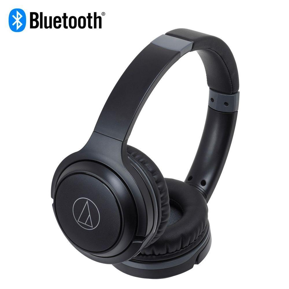 Cuffia bluetooth Audio-Technica ATH-S200BT black