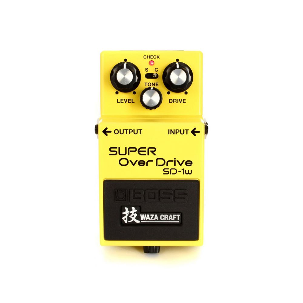 Pedale Boss SD1 Super Overdrive SD1W Waza Craft
