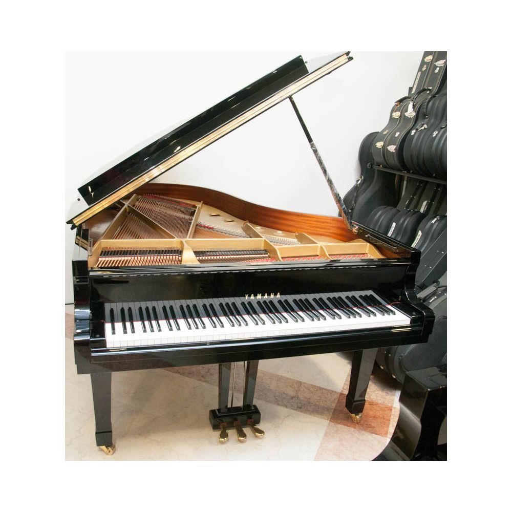 PIANOFORTE CODA RIGENERATO YAMAHA C5 NERO M.3170723