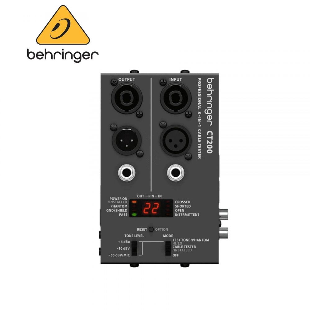 Cable Tester Behringer CT200