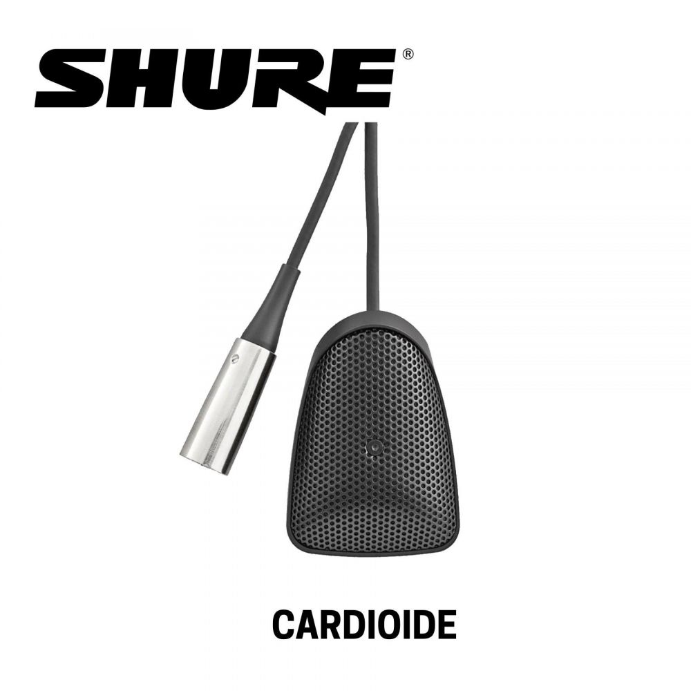 Microfono boundery Shure CVB BC condensatore