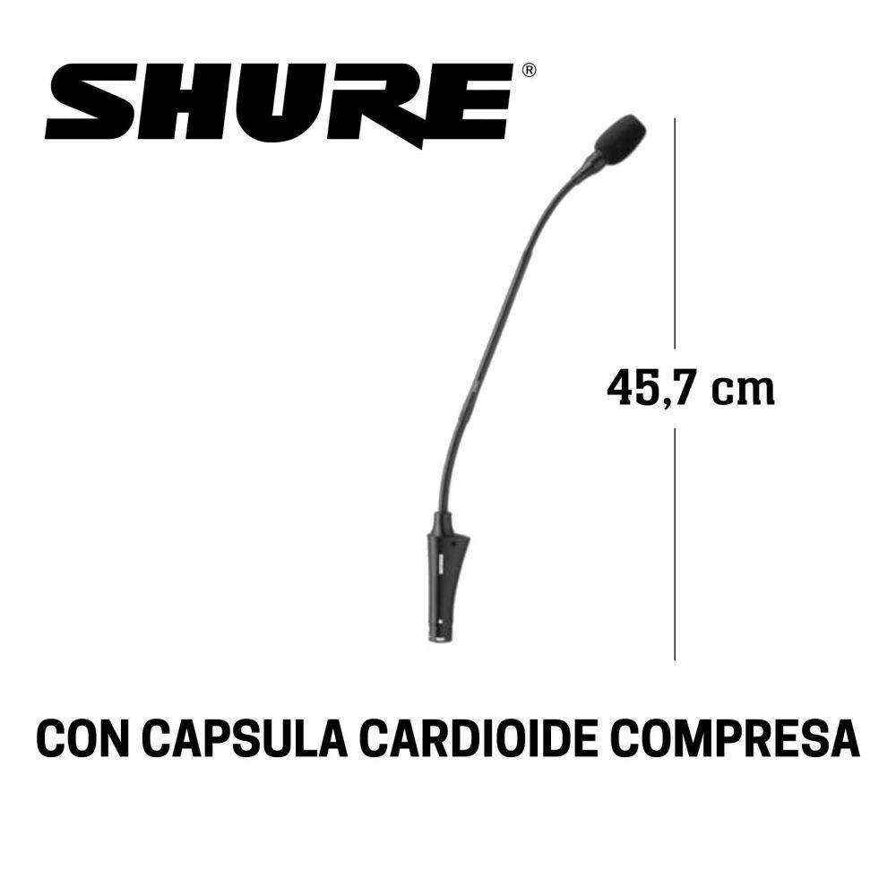 Microfono da tavolo Shure CVG18BC condensatore