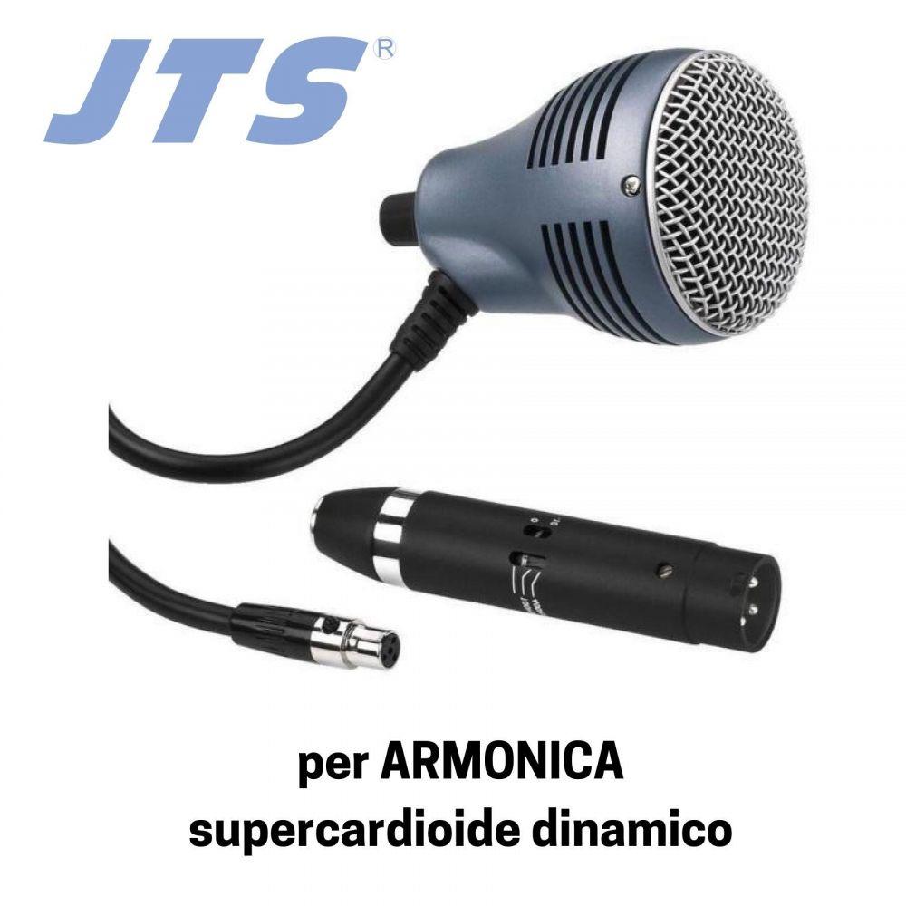 Microfono armonica JTS CX-520/MA-500 dinamico supercardioide
