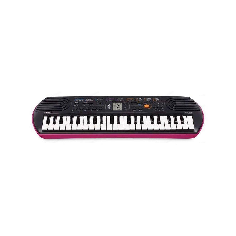 Tastiera Arranger Casio SA78 (base rosa) 44 tasti mini