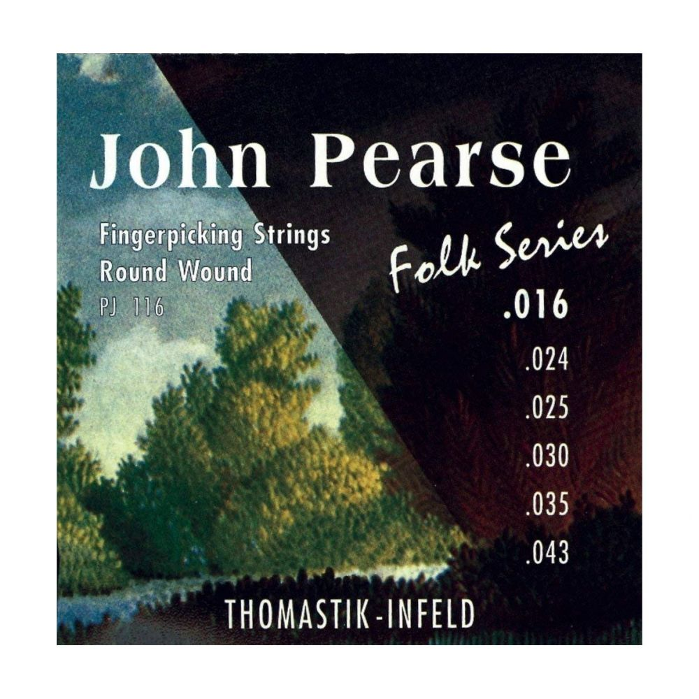 Corde Thomastik John Pearse Folk PJ116