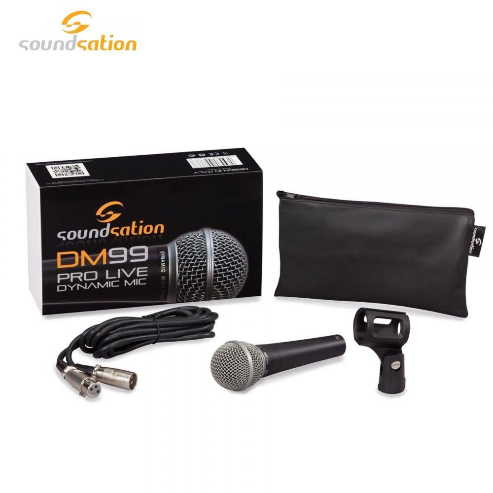 Microfono Soundsation DM99 Cavo XLR