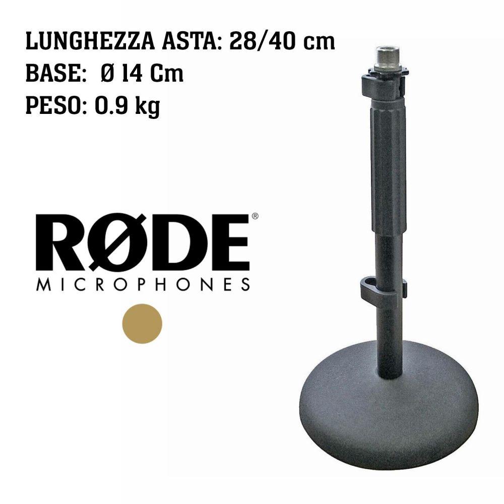 Supporto Microfono da tavolo Rode DS1