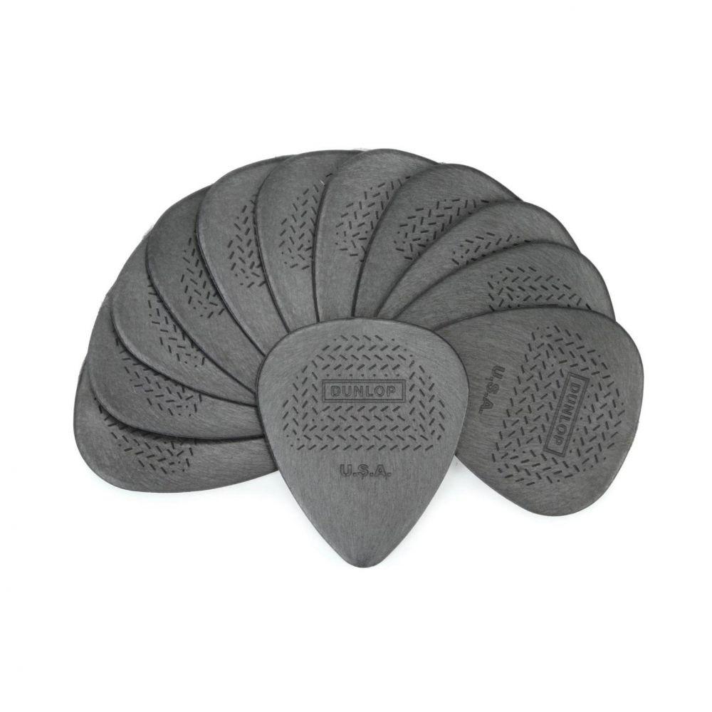Blister plettri Dunlop 449P.73 Max-Grip nylon standard 12pz 73mm