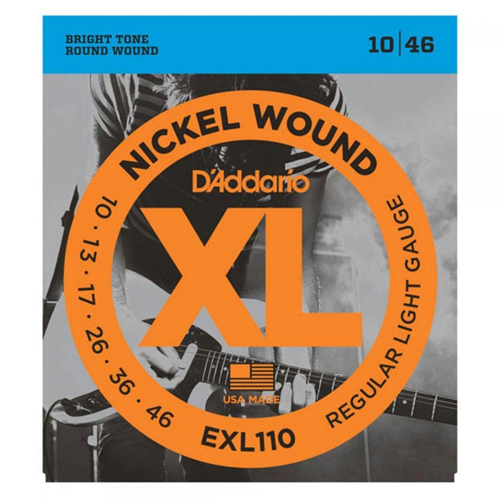 D`Addario EXL110 XL Nichel corde chitarra elettrica 10 46 front
