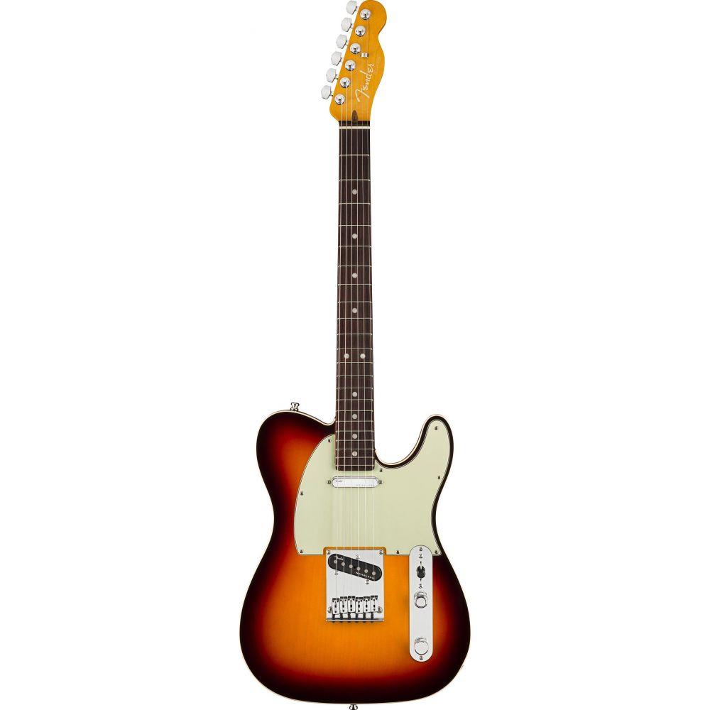 Chitarra Elettrica Fender American Ultra Telecaster rw ultraburst con custodia