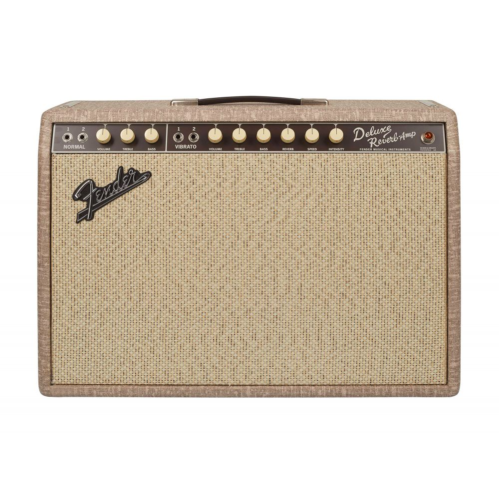 Amplificatore Fender Deluxe '65 Reverb fawn greenback 22w