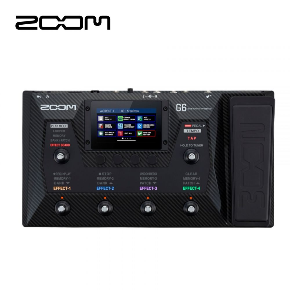 Multieffetto Chitarra Zoom G6 a pedale