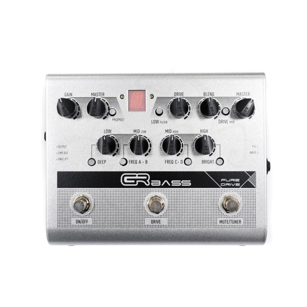 Pedale GRBass PURE DRIVE overdrive