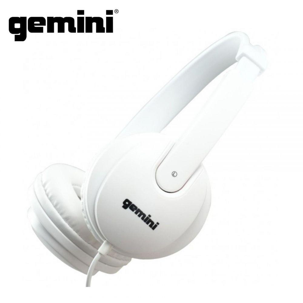 Cuffia Gemini DJX 200 WHT 32 Ohm SEMIOPEN white
