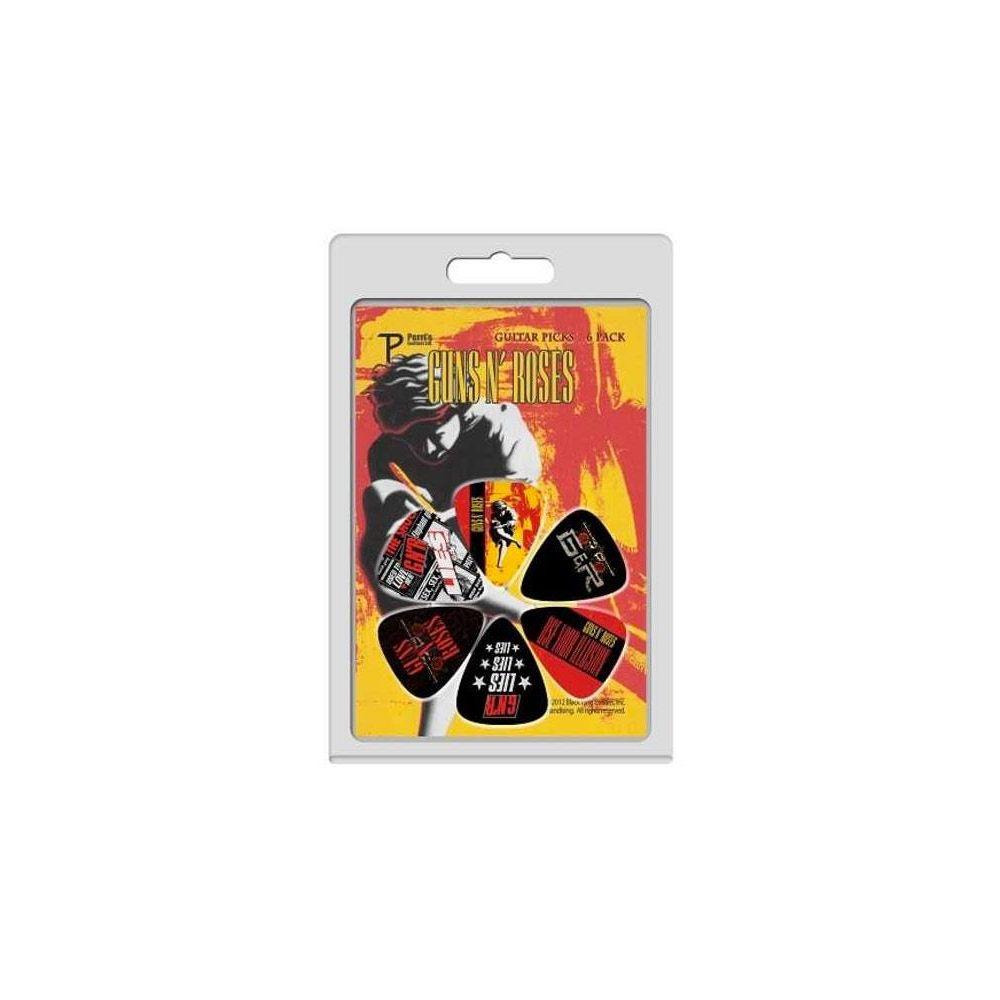 Blister plettri Perri's LP-GR1 Guns n' Roses 6pz