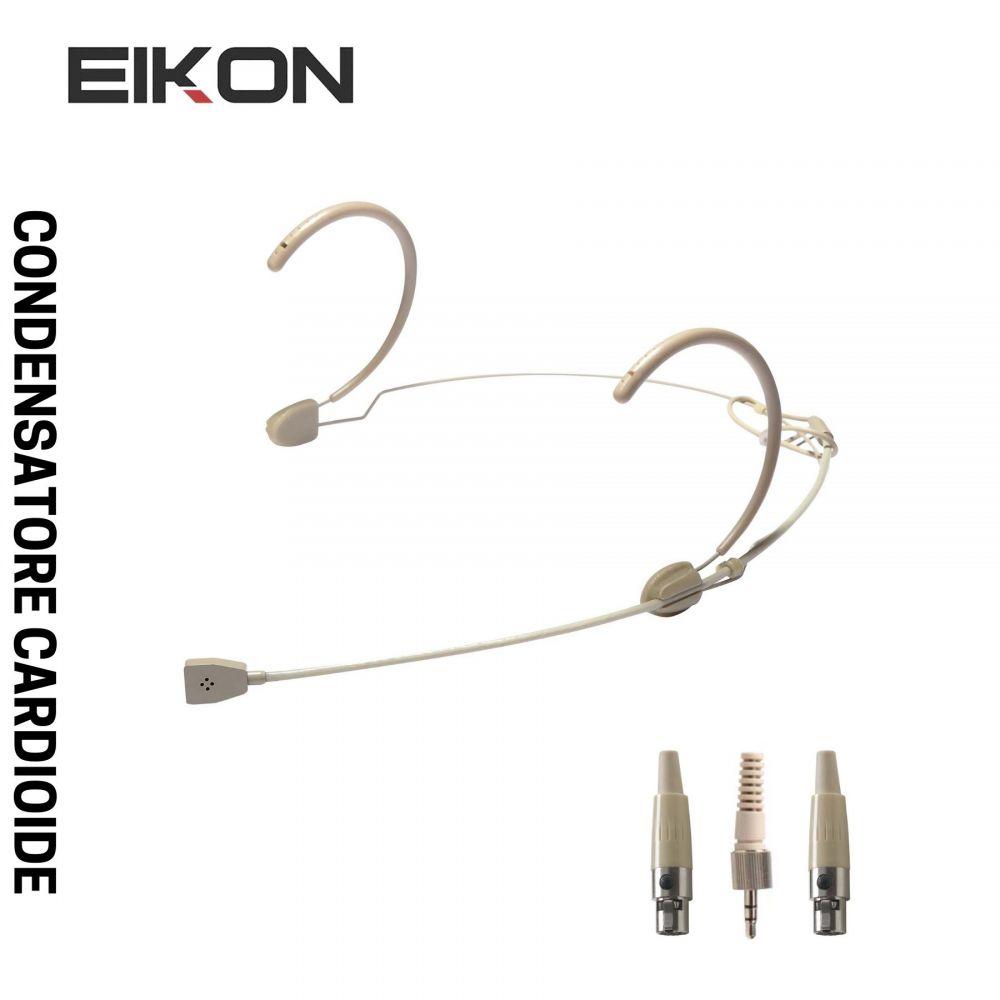 Microfono archetto PROEL HCM10V2 cardioide con adatattori color carne