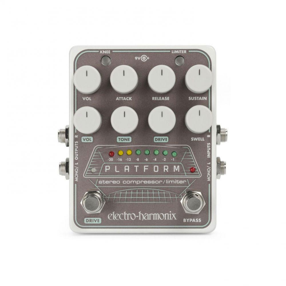 Pedale Electro Harmonix PLATFORM stereo compressor/limiter
