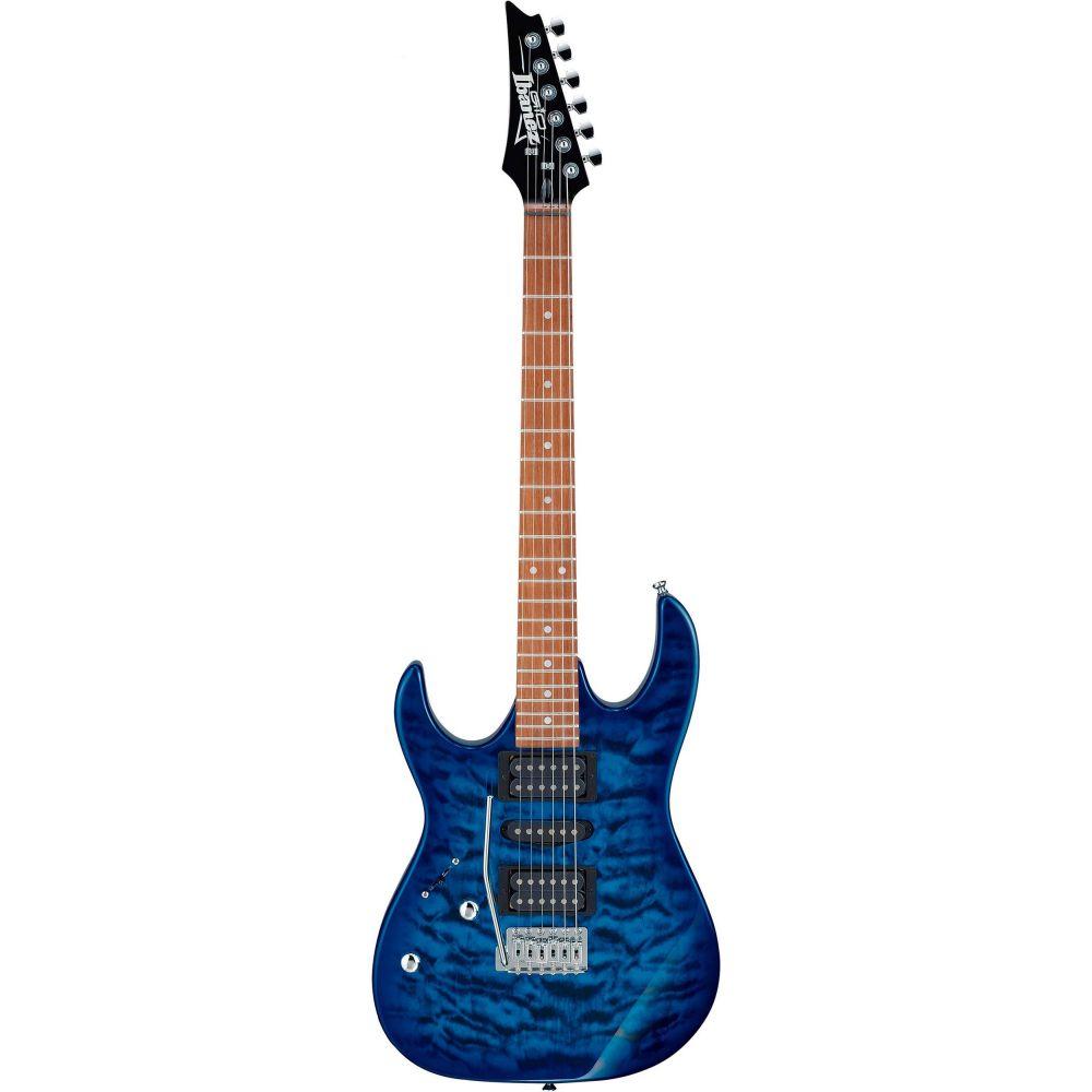 Chitarra Elettrica mancina Ibanez GRX70QAL-TBB blue