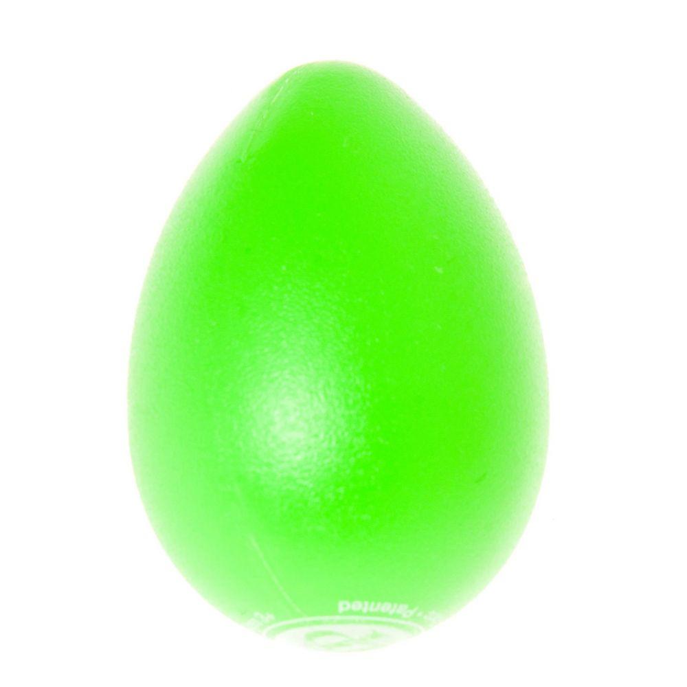 LP Uova shaker galleggiante in plastica colore verde conf. 1