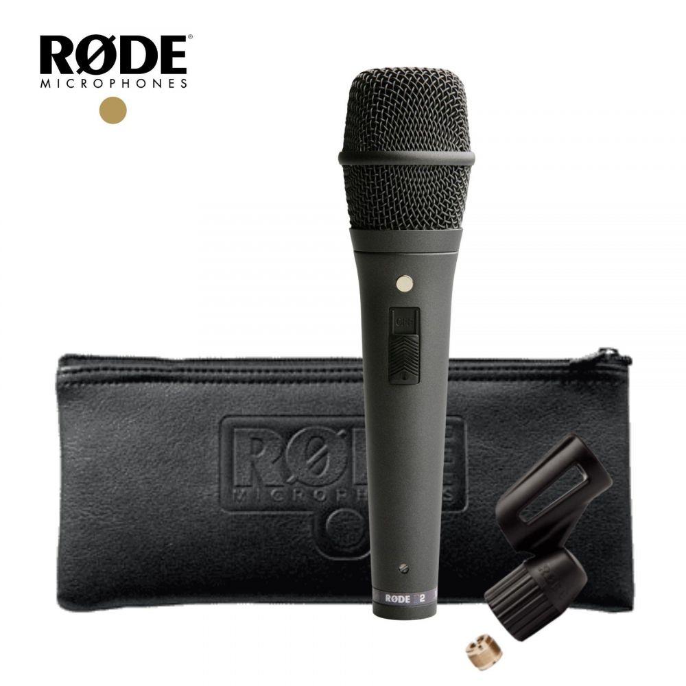 Microfono Rode M2 condensatore live