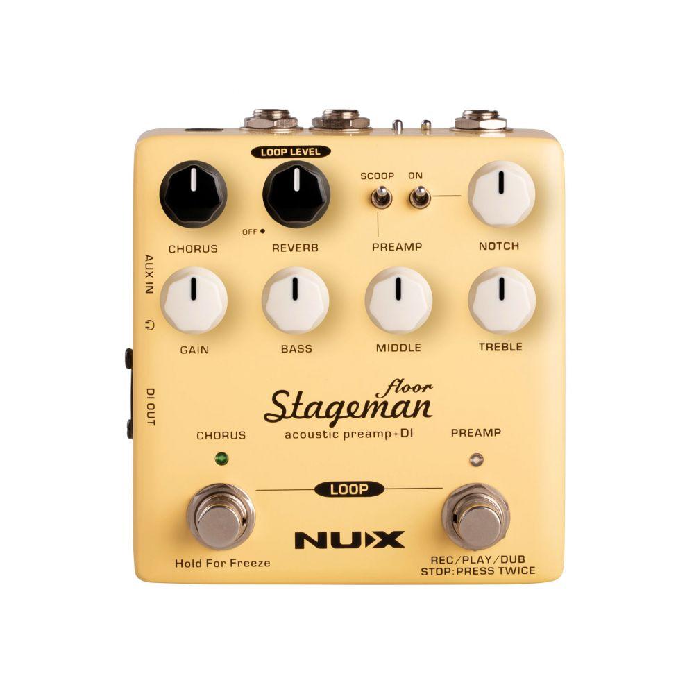 Pedale acustica Nux Stageman floor