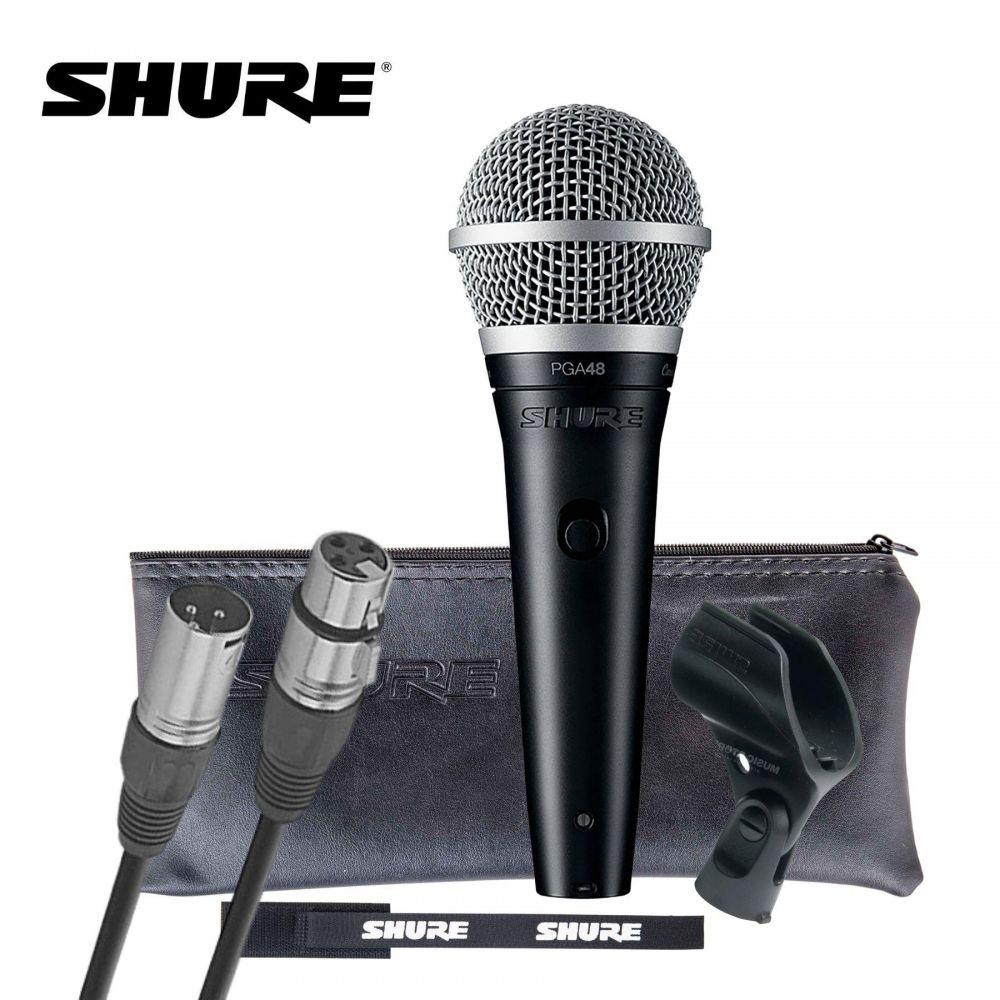 Microfono Shure PGA48 voce dinamico cardioide
