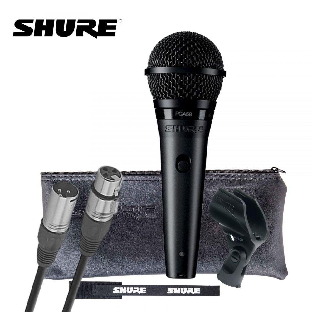 Microfono Shure PGA58 dinamico cardioide