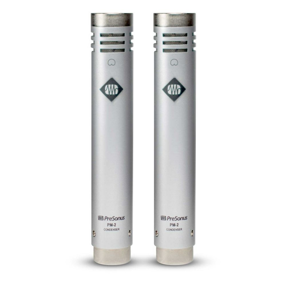 Coppia microfoni Presonus PM2 condensatore cardioide