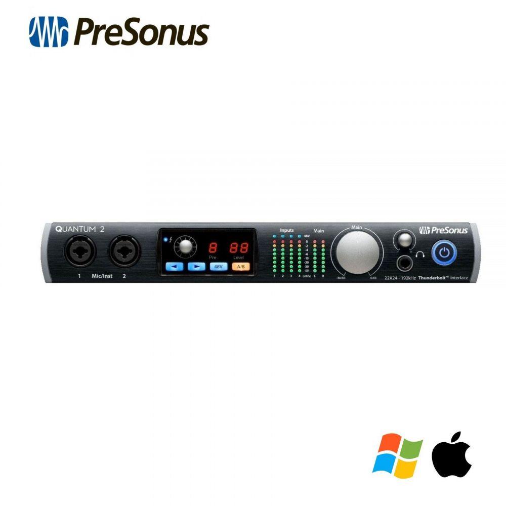Scheda Audio Presonus QUANTUM 2