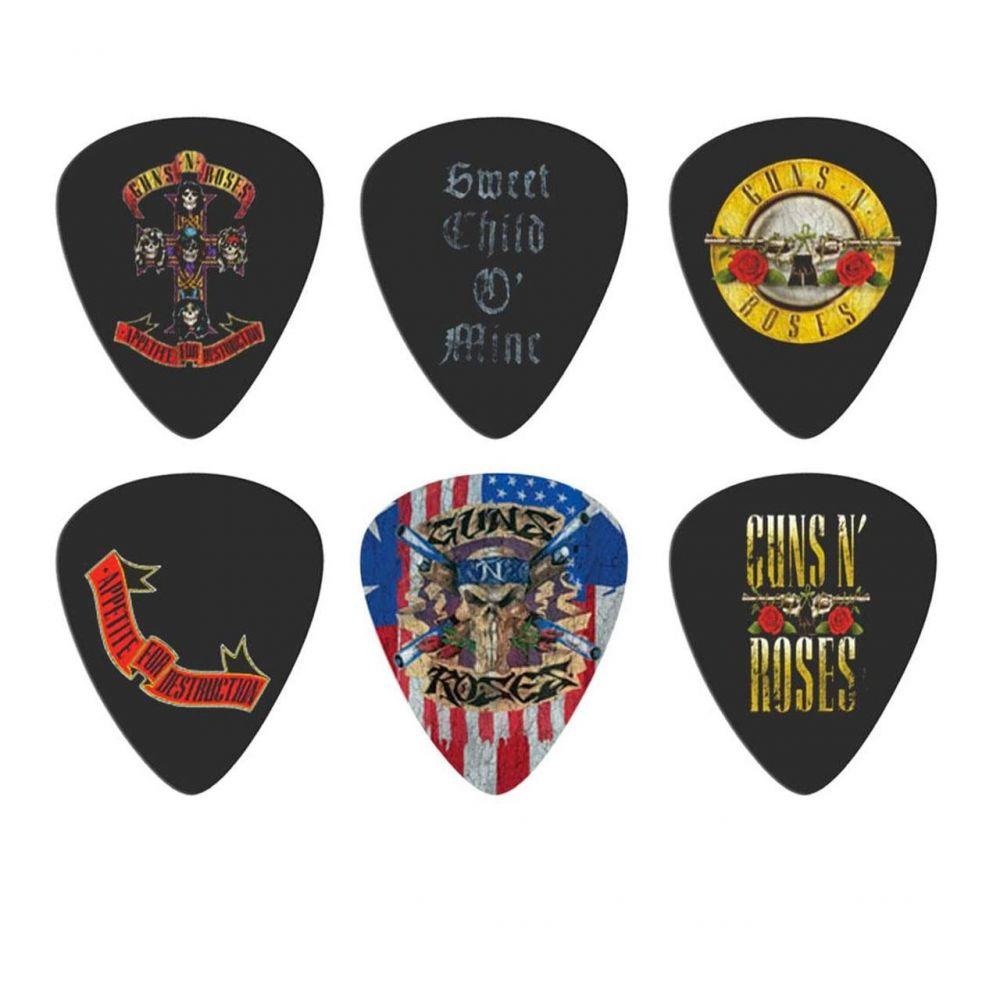 Blister plettri Perri's LP-GNR2 Guns n' Roses 6pz