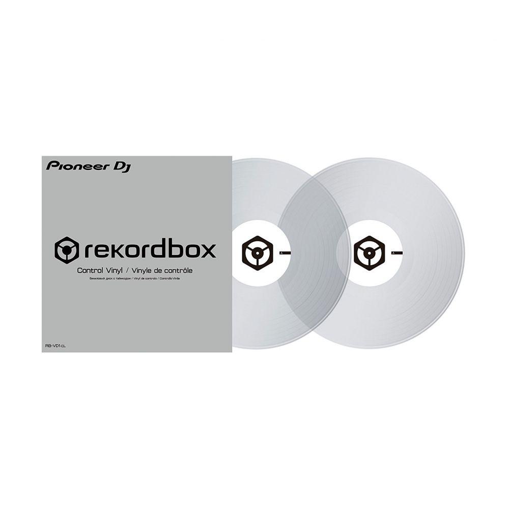 Pioneer RB-VD1-CL 2 vinili control Recordbox DVS trasparenti