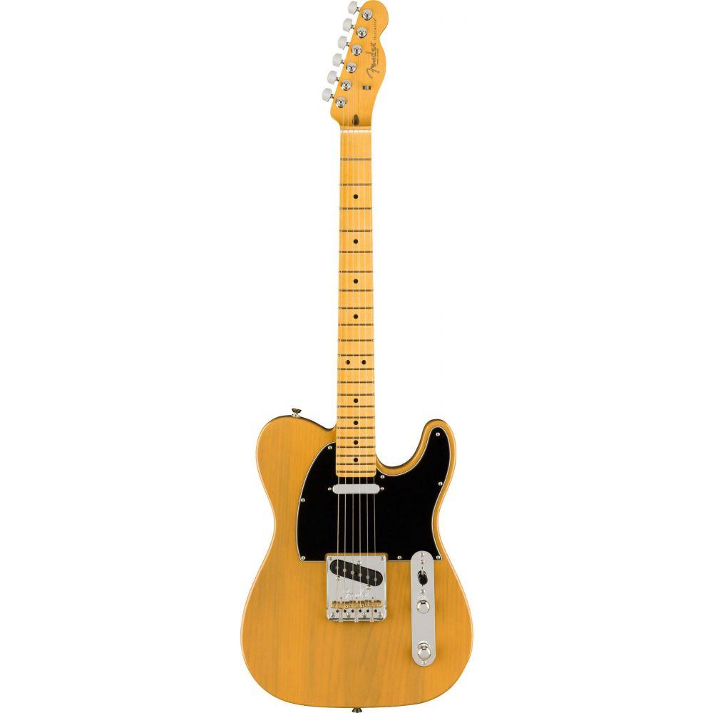 Chitarra elettrica Fender American Professional II Telecaster mn butterscotch blonde con custodia