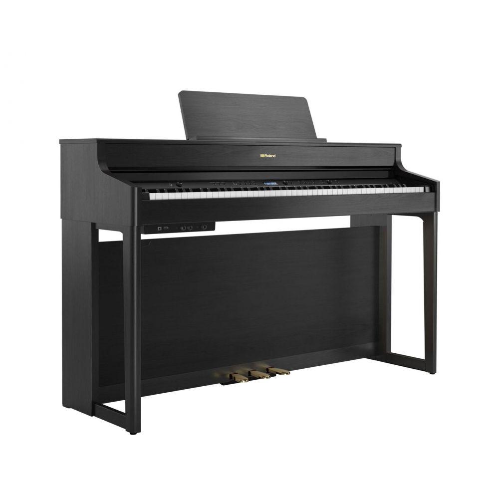Piano Digitale Roland HP702-CH con mobile charcoal black