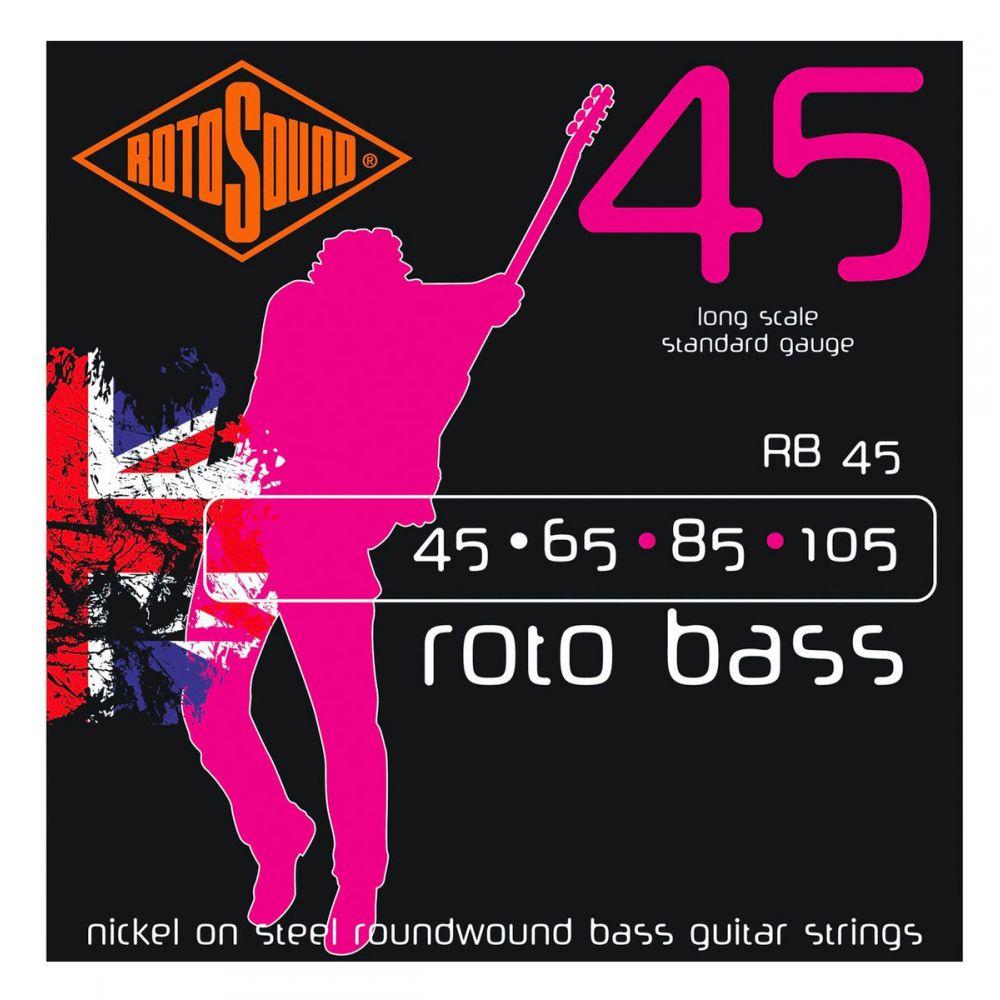 Corde basso elettrico Rotosound RB45 Roto Bass nickel 45-105